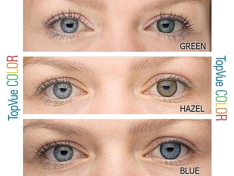 farebné kontaktné šošovky TopVue Color – nedioptrické (2 šošovky) od € 358f2753b19