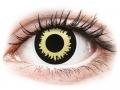 Farebné kontaktné šošovky - ColourVUE Crazy Lens - Eclipse - nedioptrické