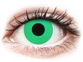 Farebné kontaktné šošovky - ColourVUE Crazy Lens - Emerald (Green) - nedioptrické