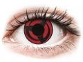 Farebné kontaktné šošovky - ColourVUE Crazy Lens - Kakashi - nedioptrické