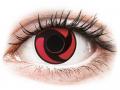 Farebné kontaktné šošovky - ColourVUE Crazy Lens - Mangekyu - nedioptrické
