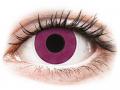 Farebné kontaktné šošovky - ColourVUE Crazy Lens - Purple - nedioptrické