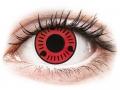 Farebné kontaktné šošovky - ColourVUE Crazy Lens - Sasuke - nedioptrické