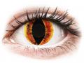 Farebné kontaktné šošovky - ColourVUE Crazy Lens - Saurons Eye - nedioptrické