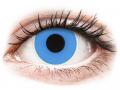 Farebné kontaktné šošovky - ColourVUE Crazy Lens - Sky Blue - nedioptrické