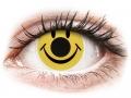 Farebné kontaktné šošovky - ColourVUE Crazy Lens - Smiley - nedioptrické