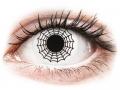 Farebné kontaktné šošovky - ColourVUE Crazy Lens - Spider - nedioptrické