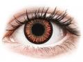 Farebné kontaktné šošovky - ColourVUE Crazy Lens - Vampire - nedioptrické