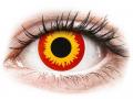 Farebné kontaktné šošovky - ColourVUE Crazy Lens - Wildfire - nedioptrické