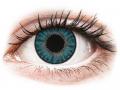 Farebné kontaktné šošovky - TopVue Color - Blue - dioptrické denné