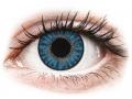Farebné kontaktné šošovky - TopVue Color - Sapphire Blue - dioptrické denné