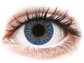Farebné kontaktné šošovky - TopVue Color - True Sapphire - dioptrické
