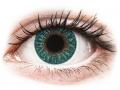 Farebné kontaktné šošovky - TopVue Color - Turquoise - nedioptrické