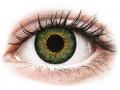 Farebné kontaktné šošovky - ColourVUE Glamour Green - dioptrické