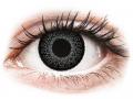 Farebné kontaktné šošovky - ColourVUE Eyelush Grey - nedioptrické