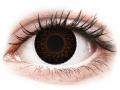 Farebné kontaktné šošovky - ColourVUE Eyelush Choco - dioptrické