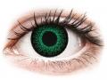 Farebné kontaktné šošovky - ColourVUE Eyelush Green - dioptrické