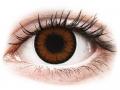 Farebné kontaktné šošovky - ColourVUE BigEyes Pretty Hazel - dioptrické