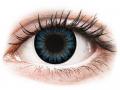 Farebné kontaktné šošovky - ColourVUE BigEyes Cool Blue - nedioptrické