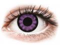 Farebné kontaktné šošovky - ColourVUE BigEyes Ultra Violet - nedioptrické