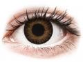 Farebné kontaktné šošovky - ColourVUE 3 Tones Brown - nedioptrické