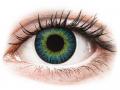 Farebné kontaktné šošovky - ColourVUE Fusion Yellow Blue - dioptrické