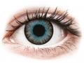 Farebné kontaktné šošovky - ColourVUE Fusion Blue Gray - nedioptrické