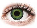 Farebné kontaktné šošovky - ColourVUE Fusion Green Yellow - nedioptrické