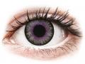 Farebné kontaktné šošovky - ColourVUE Fusion Violet Gray - nedioptrické