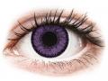 Farebné kontaktné šošovky - SofLens Natural Colors Indigo - nedioptrické