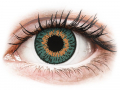 Farebné kontaktné šošovky - Expressions Colors Aqua - nedioptrické