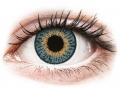Farebné kontaktné šošovky - Expressions Colors Blue - dioptrické