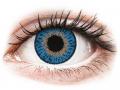 Farebné kontaktné šošovky - Expressions Colors Dark Blue - nedioptrické