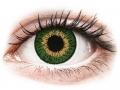Farebné kontaktné šošovky - Expressions Colors Green - nedioptrické