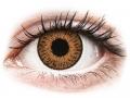 Farebné kontaktné šošovky - Expressions Colors Hazel - dioptrické