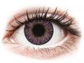 Farebné kontaktné šošovky - FreshLook ColorBlends Amethyst - nedioptrické