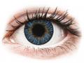Farebné kontaktné šošovky - FreshLook ColorBlends True Sapphire - nedioptrické
