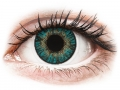 Farebné kontaktné šošovky - FreshLook ColorBlends Turquoise - dioptrické
