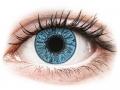 Farebné kontaktné šošovky - FreshLook Colors Sapphire Blue - dioptrické