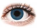 Farebné kontaktné šošovky - FreshLook Dimensions Pacific Blue - dioptrické