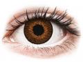 Farebné kontaktné šošovky - Expressions Colors Brown - dioptrické