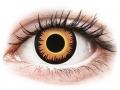 Farebné kontaktné šošovky - ColourVUE Crazy Lens - Orange Werewolf - jednodenné nedioptrické
