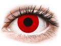 Farebné kontaktné šošovky - ColourVUE Crazy Lens - Red Devil - jednodenné nedioptrické