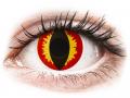 Farebné kontaktné šošovky - ColourVUE Crazy Lens - Dragon Eyes - jednodenné nedioptrické