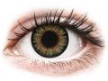 Farebné kontaktné šošovky - ColourVue One Day TruBlends Green - dioptrické