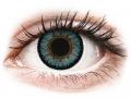 Farebné kontaktné šošovky - ColourVUE 3 Tones Aqua - nedioptrické