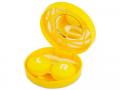 Puzdra a ostatné - Kazeta s ornamentom - žltá
