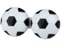 Puzdra a ostatné - Puzdro na šošovky Futbal - čierne