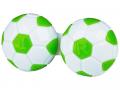 Puzdra a ostatné - Puzdro na šošovky Futbal - zelené