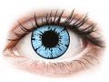 Farebné kontaktné šošovky - ColourVUE Crazy Lens - Blizzard - nedioptrické